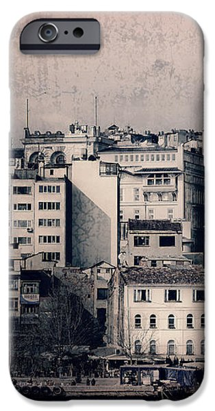 Old New District iPhone Case by Joan Carroll