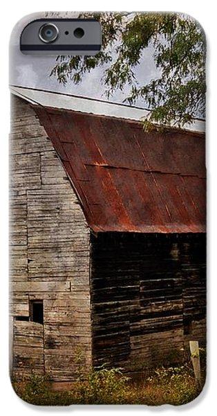 Old Oak Barn iPhone Case by Marty Koch