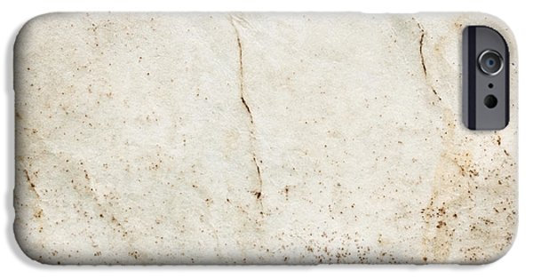 Torn iPhone Cases - Old paper iPhone Case by Tom Gowanlock