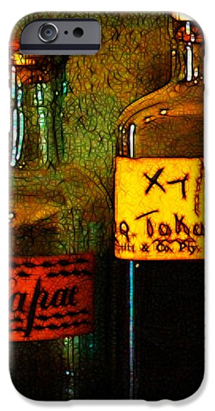 Old Pharmacy Bottles - 20130118 v1b iPhone Case by Wingsdomain Art and Photography