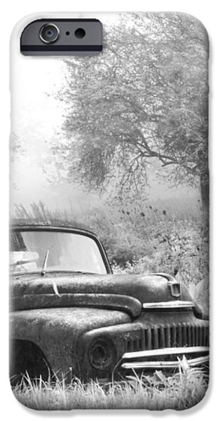 Old Pick Up Truck iPhone Case by Debra and Dave Vanderlaan