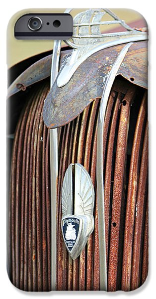 Rust iPhone Cases - Old Plymouth Grill iPhone Case by Lynn Jordan