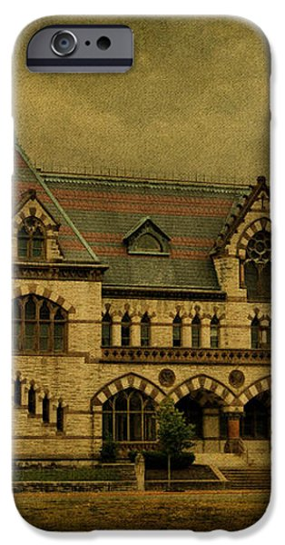 Old Post Office - Customs House iPhone Case by Sandy Keeton