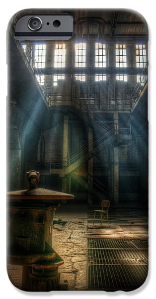 Electrical Equipment iPhone Cases - Old power station  iPhone Case by Nathan Wright