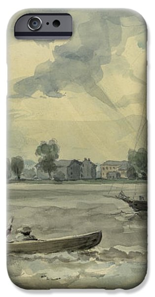Old Quarantine Station circa 1857 iPhone Case by Aged Pixel