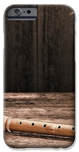 Old Recorder iPhone Case by Olivier Le Queinec