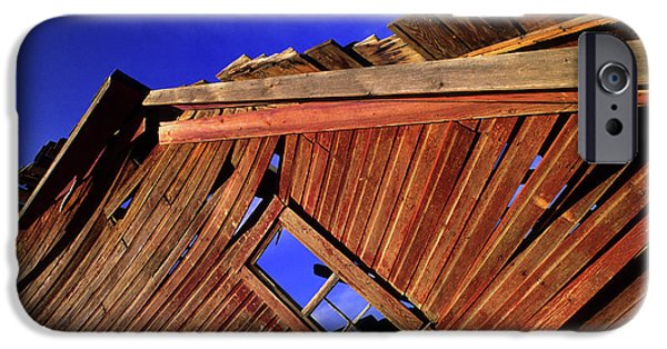 Old Barn Photo Photographs iPhone Cases - Old Red Barn iPhone Case by Bob Christopher