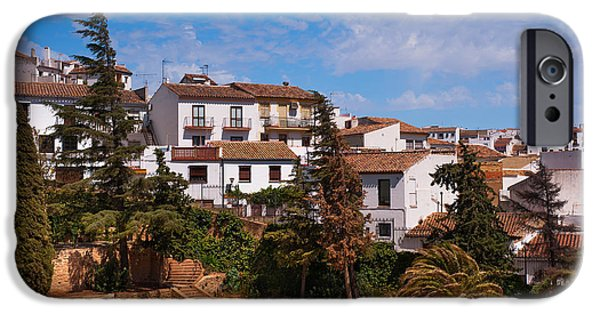 White House iPhone Cases - Old Ronda. Andalusia. Spain iPhone Case by Jenny Rainbow