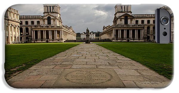 Naval College iPhone Cases - Old Royal Naval College iPhone Case by John Daly