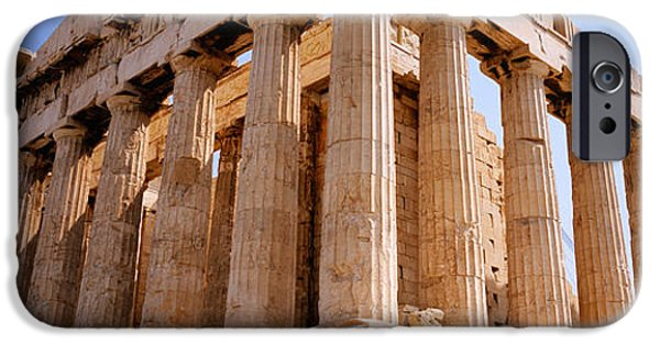 Acropolis iPhone Cases - Old Ruins Of A Temple, Parthenon iPhone Case by Panoramic Images