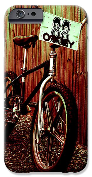 Old School BMX - Jag iPhone Case by Jamian Stayt