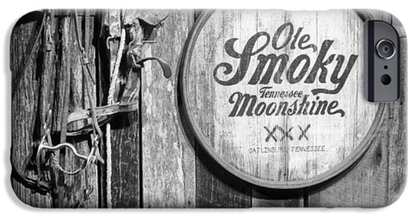Crocks iPhone Cases - Ole Smoky Moonshine iPhone Case by Dan Sproul