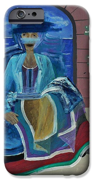 By Barbara St Jean iPhone Cases - Old Soul iPhone Case by Barbara St Jean