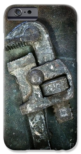 Diy iPhone Cases - Old Spanner iPhone Case by Carlos Caetano