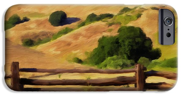 Split Rail Fence iPhone Cases - Old Split Rail Fence iPhone Case by Michael Pickett