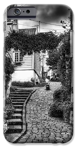 Old Stavanger Part I iPhone Case by Erik Brede