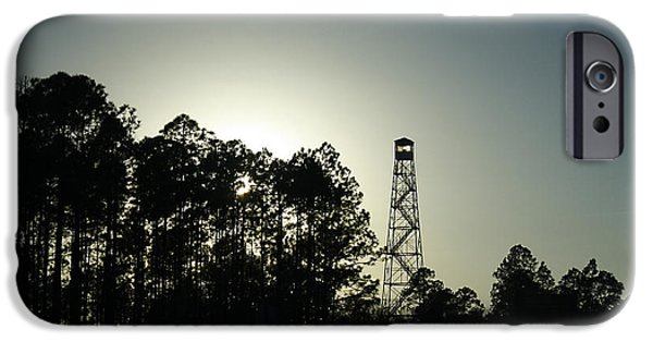 Agriculture iPhone Cases - Old Tower iPhone Case by Debra Forand