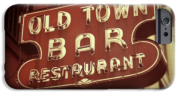 Old Town Digital iPhone Cases - Old Town Bar - New York iPhone Case by Jim Zahniser
