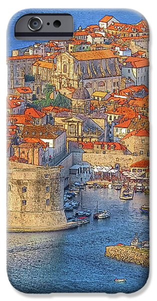 Old Town Dubrovnik iPhone Case by Douglas J Fisher