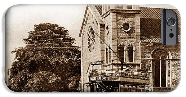 Swindon iPhone Cases - Old Town Swindon England iPhone Case by The Keasbury-Gordon Photograph Archive