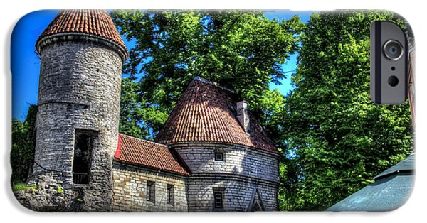 Estonia Photographs iPhone Cases - Old Town - Tallin Estonia iPhone Case by Jon Berghoff