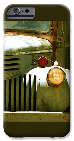 Old Truck Abstract iPhone Case by Ben and Raisa Gertsberg