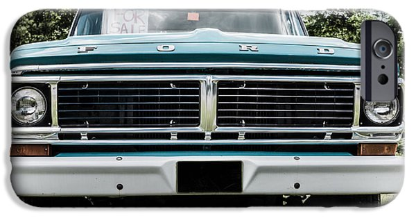 Selling iPhone Cases - Old Ford Truck for Sale iPhone Case by Edward Fielding