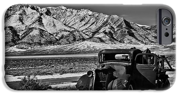 Recently Sold -  - Haybale iPhone Cases - Old Truck iPhone Case by Robert Bales