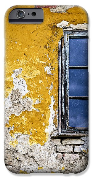 Serbia iPhone Cases - Old wall in Serbia iPhone Case by Elena Elisseeva