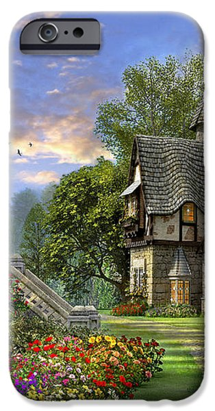 Old Waterway Cottage iPhone Case by Dominic Davison