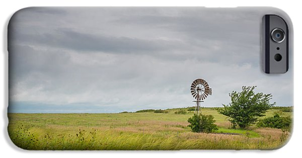 Michael Versprill iPhone Cases - Old Windmill iPhone Case by Michael Ver Sprill