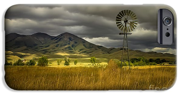 Recently Sold -  - Haybale iPhone Cases - Old Windmill iPhone Case by Robert Bales