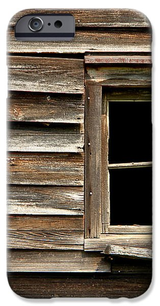 Old Window and Clapboard iPhone Case by Olivier Le Queinec