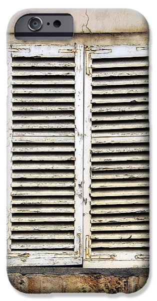 Old window iPhone Case by Elena Elisseeva