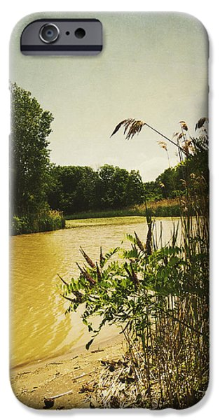 Old Woman Creek  iPhone Case by Shawna  Rowe