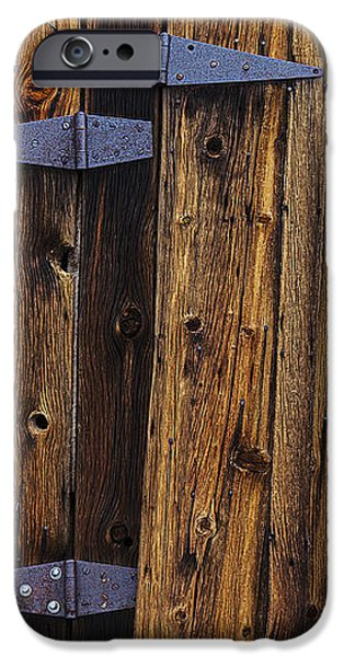 Old Wood Barn iPhone Case by Garry Gay