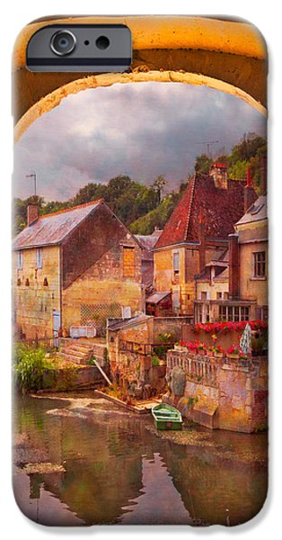 Austria iPhone Cases - Old World iPhone Case by Debra and Dave Vanderlaan