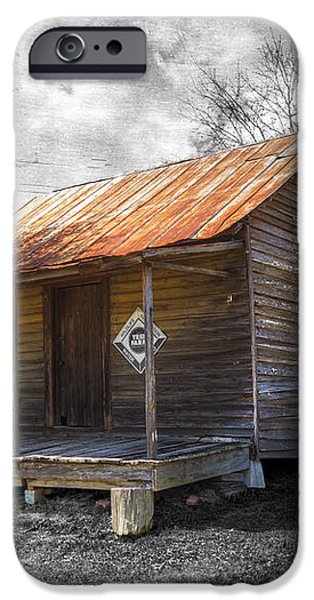 Olden Days iPhone Case by Debra and Dave Vanderlaan