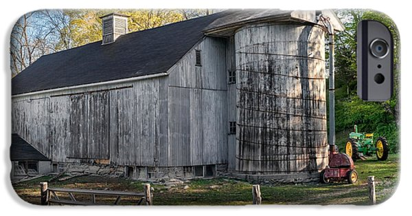 Old Barns iPhone Cases - Oldie but Goodie iPhone Case by Bill  Wakeley