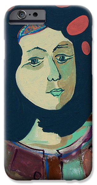Olga  iPhone Case by Oscar Penalber