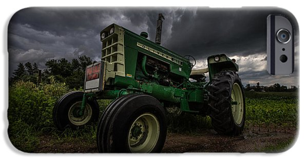 Tractors iPhone Cases - Oliver iPhone Case by Aaron J Groen