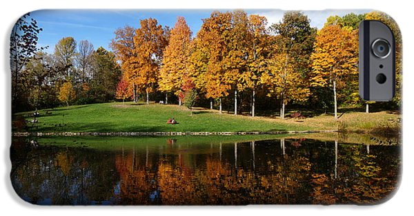 Southern Indiana iPhone Cases - Oliver Winery 2014 iPhone Case by Chuck Johnson