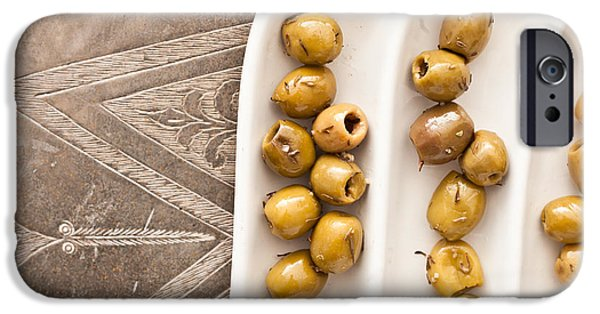 Deli iPhone Cases - Olives iPhone Case by Tom Gowanlock