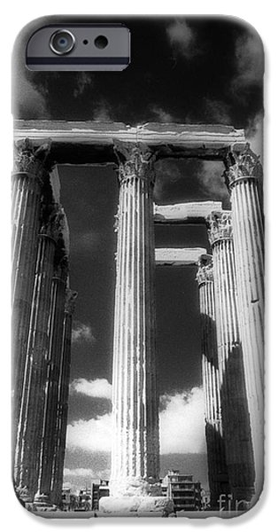 Best Sellers -  - Zeus iPhone Cases - Olympian Zeus columns iPhone Case by Andonis Katanos