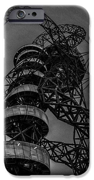 Orbit iPhone Cases - Olympic Park London iPhone Case by Martin Newman