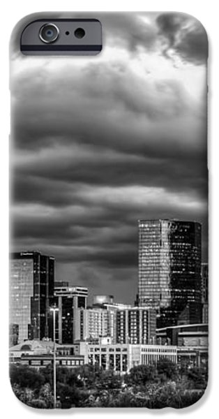 Ominous Charlotte Sky iPhone Case by Chris Austin