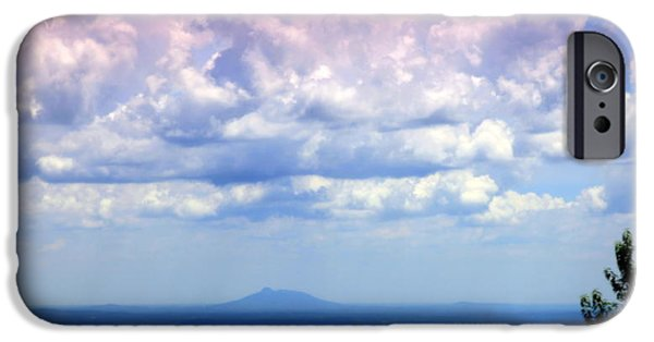 Mt Airy North Carolina iPhone Cases - On A Clear Day iPhone Case by Karen Wiles