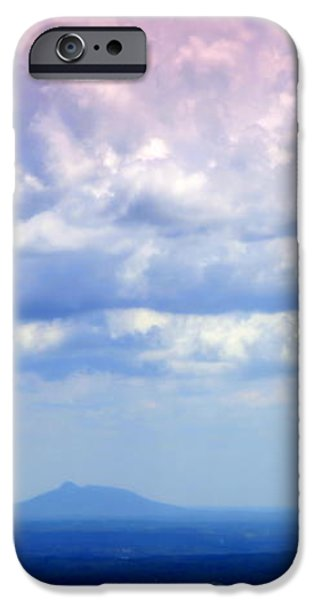 ON A CLEAR DAY iPhone Case by KAREN WILES
