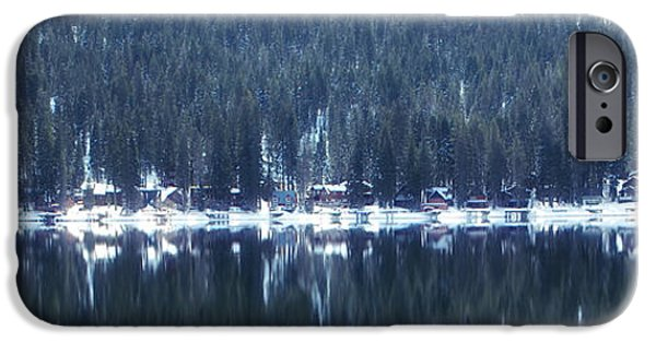 Winter Scene iPhone Cases - On Donner iPhone Case by Donna Blackhall