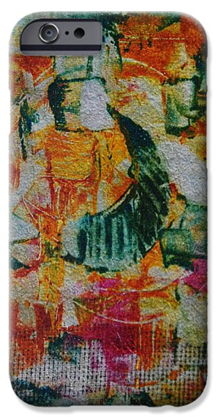 Printmaking iPhone Cases - On Guard iPhone Case by Alexandra Jordankova